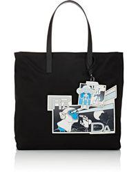 Prada - Logo Tote Bag - Lyst