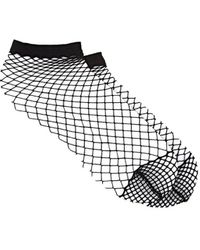 The Great Eros - Fishnet Ankle Socks - Lyst