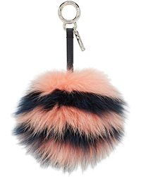 Fendi - Fur-pom-pom Bag Charm - Lyst