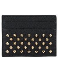 Christian Louboutin - Kios Leather Card Case - Lyst