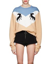 Off-White c/o Virgil Abloh - Twisting Horses Sweater - Lyst