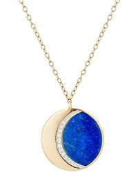 Pamela Love - Moon Phase Pendant Necklace - Lyst