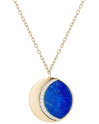 Pamela Love - Moon Phase Pendant Necklace - Lyst