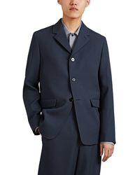 Jil Sander - Twill Three-button Sportcoat - Lyst