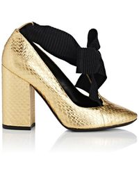 Philosophy Di Lorenzo Serafini - Stamped Leather Ankle - Lyst