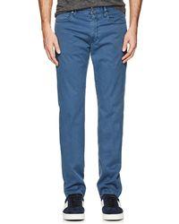 Incotex - Ray 5-pocket Cotton Twill Pants - Lyst