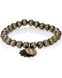 Miracle Icons - Charms On Beaded Bracelet - Lyst