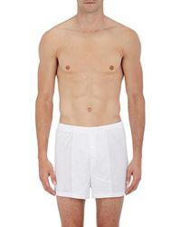 Zimmerli - Sea Island Long Boxer Shorts - Lyst