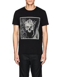 Alexander McQueen - skull King Cotton T - Lyst