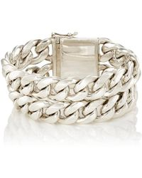 Sidney Garber - Sterling Silver Double-curb - Lyst