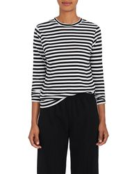 Barneys New York | Striped Tissue-weight Cotton T | Lyst