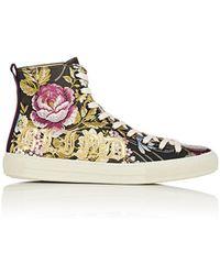 Gucci Major Jacquard Sneakers Size 9 - Multicolour