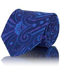 Barneys New York - Paisley Silk Faille Necktie - Lyst