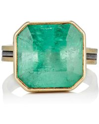 Judy Geib - Colombian Emerald Ring Size 6.5 - Lyst