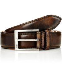 Harris Antico Belt - Brown