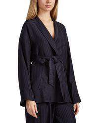Eres - Midday Silk Short Robe - Lyst
