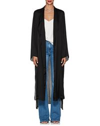 Juan Carlos Obando - Washed Satin Long Robe - Lyst