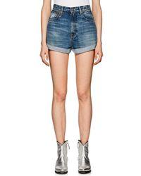 R13 - Hailey Denim Shorts - Lyst