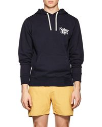 Saturdays NYC - Ditch Logo Cotton Terry Hoodie - Lyst