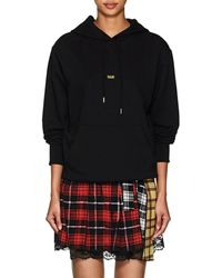 Helmut Lang - taxi Cotton French Terry Hoodie - Lyst