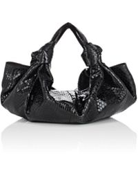 The Row - The Ascot Small Python Bag - Lyst