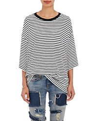 R13 | Striped Oversized T | Lyst