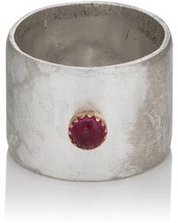Julie Wolfe - Ruby Ring - Lyst