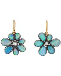 Judy Geib - Wildflower Drop Earrings - Lyst