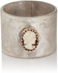 Julie Wolfe - Cameo Cigar Ring - Lyst