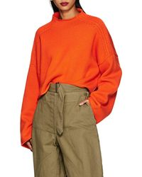 JW Anderson - Wool-cashmere Crop Sweater - Lyst