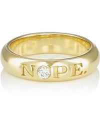 Finn - nope & ok Ring - Lyst