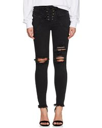 Icons - Valhalla Distressed Lace - Lyst