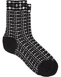 Antipast - Link Up Wool-blend Mid-calf Socks - Lyst
