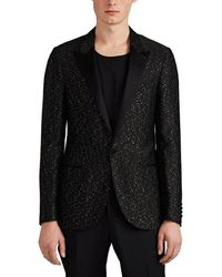 Lanvin - Satin-trimmed Sequined One-button Tuxedo Jacket - Lyst