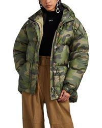 dbaa7d4d32438 Ienki Ienki - Michelin Camouflage Down Puffer Jacket Size L - Lyst
