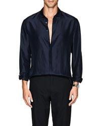 Giorgio Armani - Silk Georgette Shirt - Lyst