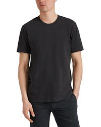 James Perse - Palm-leaves-graphic Cotton T-shirt - Lyst