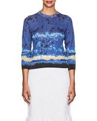 Altuzarra - Tie-dyed Silk-cotton Sweater - Lyst