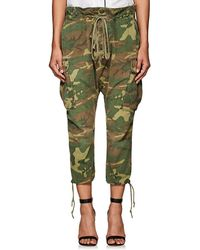 Greg Lauren | Thedrop@barneys: Camouflage Cotton Ripstop Lounge Pants | Lyst