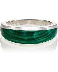 Pamela Love Inlay Cocktail Ring - Green