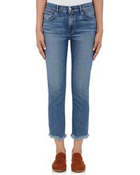 3x1 - W3 High Rise Straight Authentic Crop Jeans - Lyst