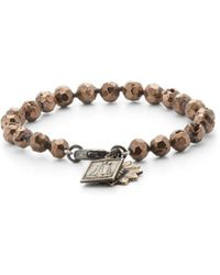 Miracle Icons - Vintage-icon Beaded Bracelet - Lyst