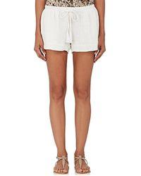 Natalie Martin | Tash Cotton Gauze Shorts | Lyst