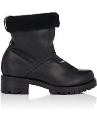 Feit - Shearling-lined Leather Ankle Boots - Lyst