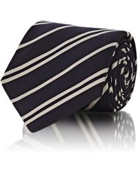 Barneys New York - Double-striped Silk - Lyst