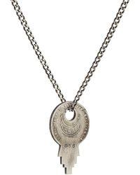 Miansai - Wise Lock Pendant Necklace - Lyst