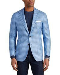 Kiton - Kb Checked Cashmere-blend Two-button Sportcoat - Lyst