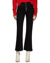 MM6 by Maison Martin Margiela - Five Pocket Flared Jeans - Lyst