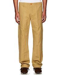 Visvim | Cotton Canvas Trousers | Lyst