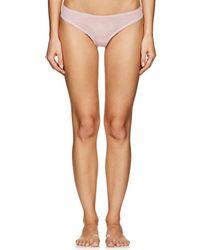 Skin - Lola Organic Cotton Thong - Lyst
